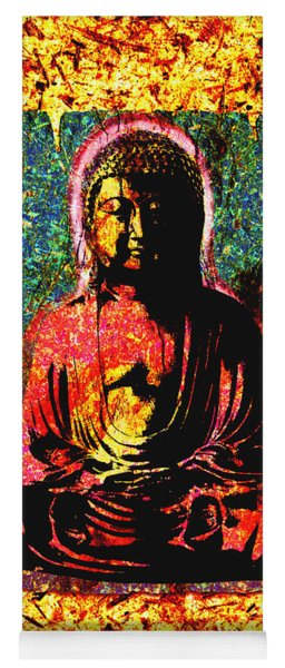 Red Buddha Yoga Mat