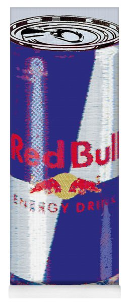 Red Bull Ode To Andy Warhol Yoga Mat