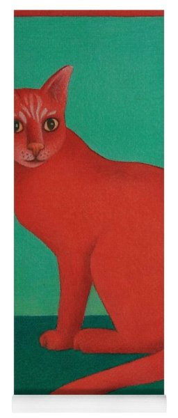 Red Cat Yoga Mat