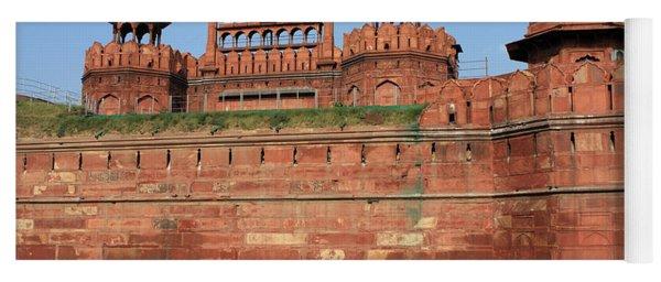 Red Fort New Delhi India Yoga Mat