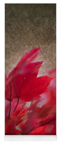 Red Maple Dreams Yoga Mat