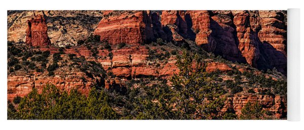 Red Rock Sentinels Yoga Mat