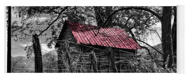 Red Roof Yoga Mat