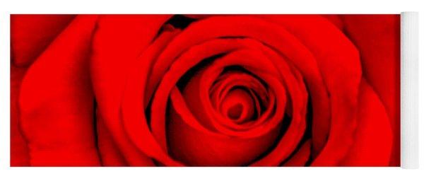 Red Rose 1 Yoga Mat