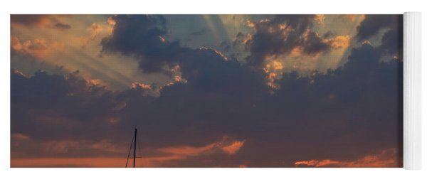 Red Sky At Night - Simcoe Yoga Mat
