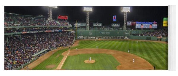 Red Sox Vs Yankees Fenway Park Yoga Mat