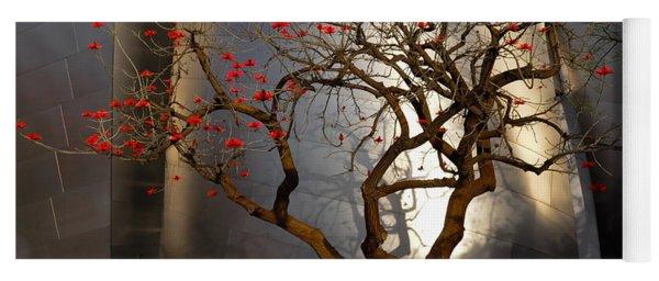 Red Tree  Yoga Mat
