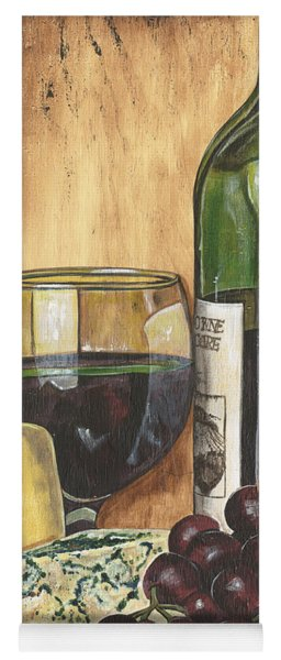 Red Wine And Cheese Yoga Mat