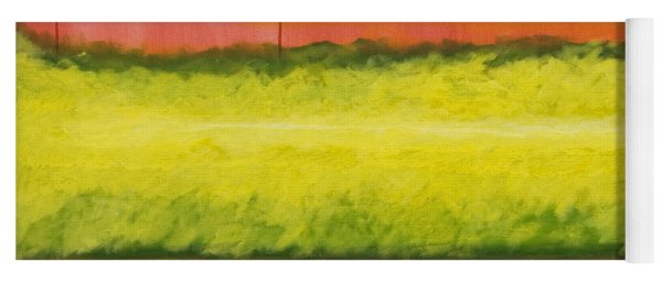 Red Yellow And Green Yoga Mat
