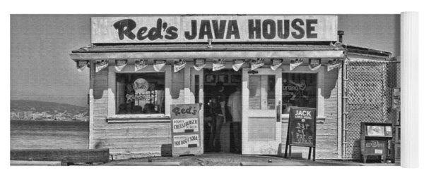 Red's Java House San Francisco By Diana Sainz Yoga Mat