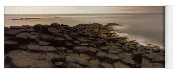 Reef At The Giants Causeway, County Yoga Mat