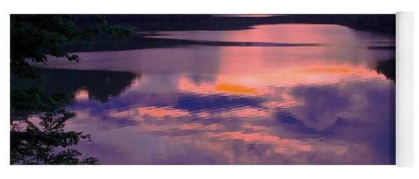Reflected Sunset Yoga Mat