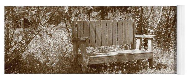 Reflecting Bench Yoga Mat