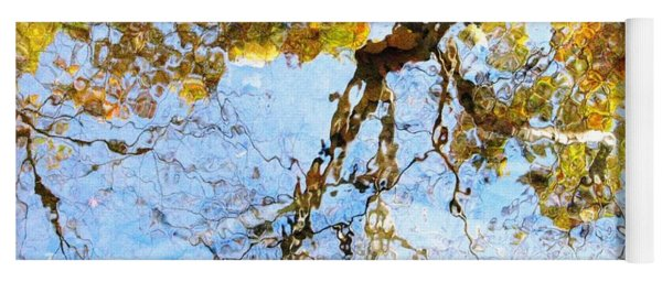 Reflecting On Monet Yoga Mat