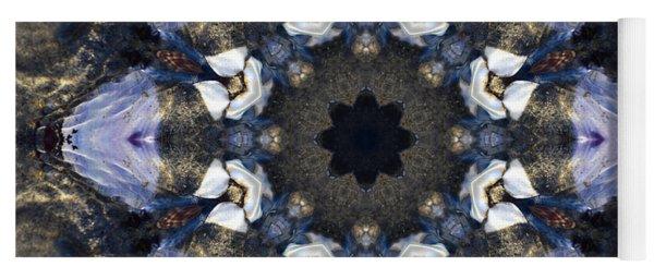 Reflection  Kaleidoscope Yoga Mat