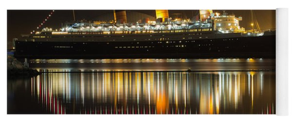 Reflections Of Queen Mary Yoga Mat