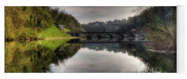 Reflections On Adda River Yoga Mat