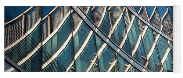 Reflections On Building Windows Yoga Mat