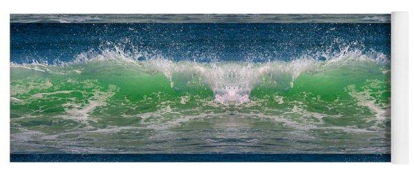 Reflective Wave Sequence Yoga Mat
