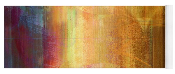 Reigning Light - Abstract Art Yoga Mat