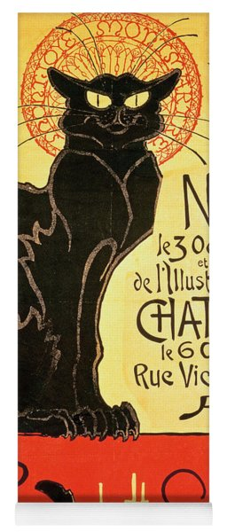 Reopening Of The Chat Noir Cabaret Yoga Mat
