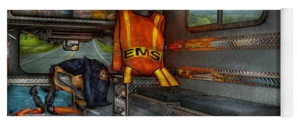 Rescue - Emergency Squad  Yoga Mat
