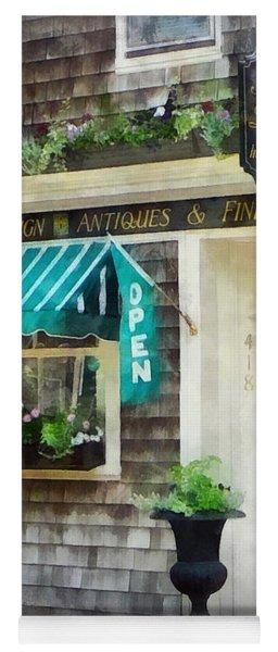 Rhode Island - Antique Shop Newport Ri Yoga Mat