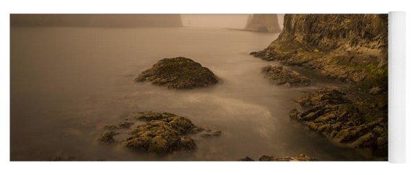 Rialto Beach Rocks Yoga Mat