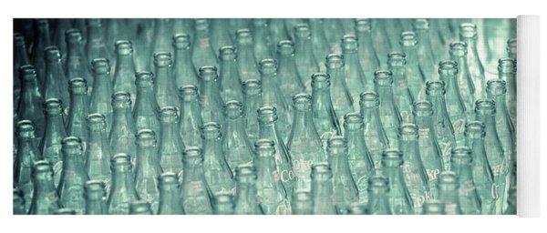 Ring Toss Coca Cola Bottles Yoga Mat