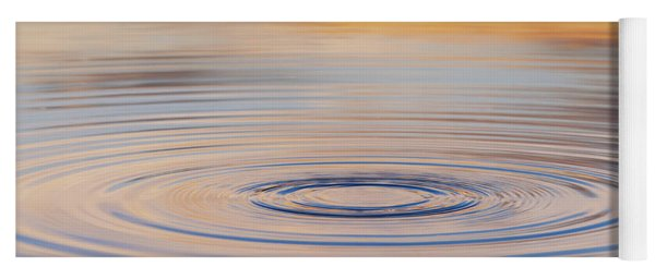 Ripples On A Still Pond Yoga Mat