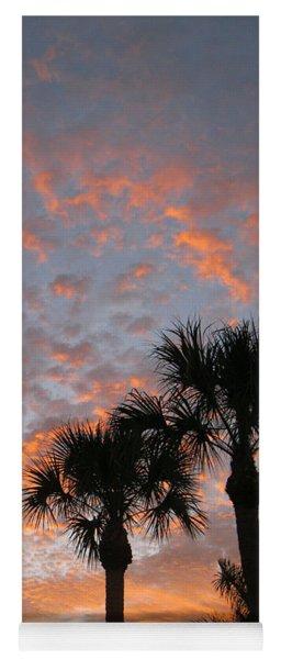 Rise And Shine. Florida. Morning Sky View Yoga Mat
