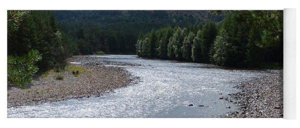 River Dee Near Braemar - Scotland Yoga Mat