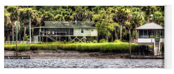 River House On Wimbee Creek Yoga Mat