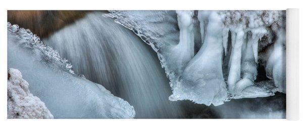 River Ice Yoga Mat