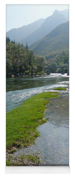 River Matka - Macedonia Yoga Mat