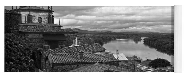River Mino And Portugal From Tui Bw Yoga Mat