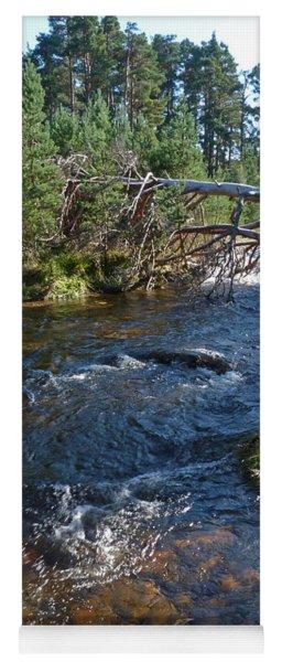 River Nethy - Abernethy Forest Yoga Mat