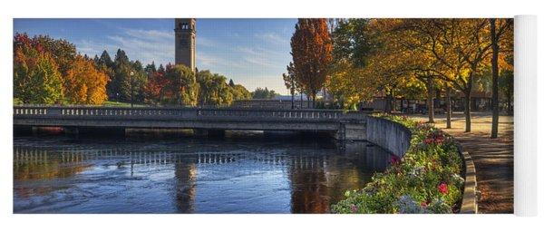 Riverfront Park - Spokane Yoga Mat