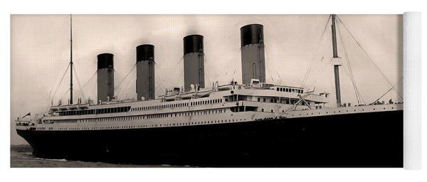 Rms Titanic Yoga Mat