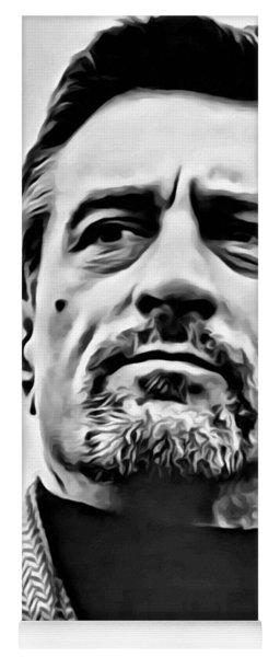 Robert De Niro Portrait Yoga Mat