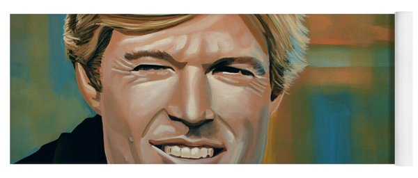 Robert Redford Yoga Mat