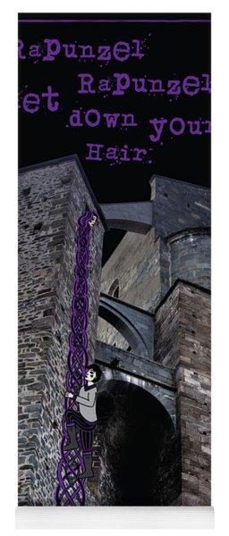 Rockin' Raven Celtic Rapunzel Yoga Mat