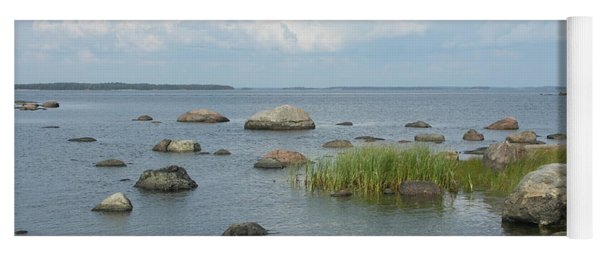 Rocks On The Baltic Sea Yoga Mat