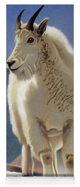 Rocky Mountain Goat Yoga Mat