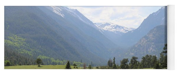 Rocky Mountain National Park  Yoga Mat
