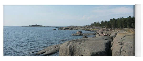 Rocky Seashore 2 In Hamina  Yoga Mat