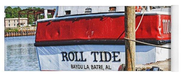 Roll Tide Stern Yoga Mat