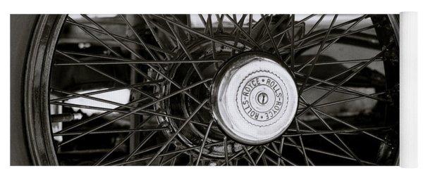 Rolls Royce Wheel Yoga Mat