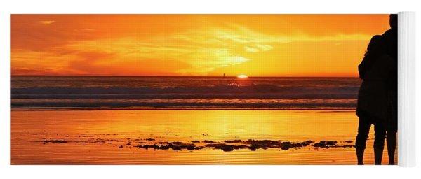 Romantic Sunset  Yoga Mat