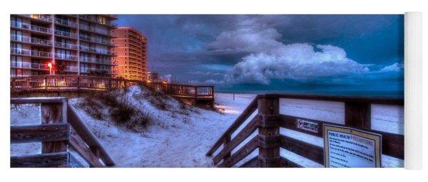 Romar Beach Clouds Yoga Mat